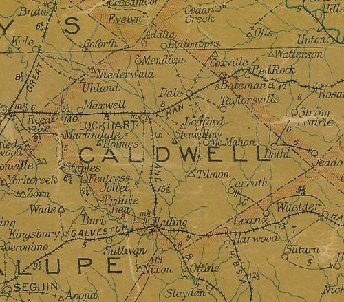Caldwell County Texas history, town list, courthouse ... on carlin county map, kerrville county map, kearney county map, copperas cove county map, pomeroy county map, sioux city county map, chariton county map, akron county map, brady county map, letcher county map, lodi county map, barnes county map, mercer county map, clay county map, westwood county map, englewood county map, schley county map, bastrop county map, elliott county map, candler county map,