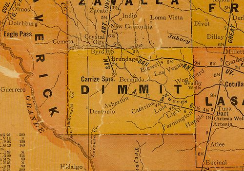 Carrizo Springs Texas Map Carrizo Springs Texas, Dimmit County Seat   history, landmarks