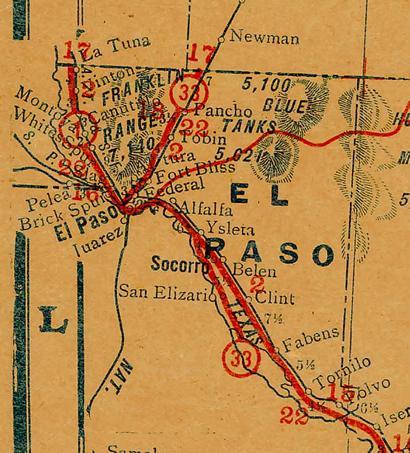 El Paso County Texas.