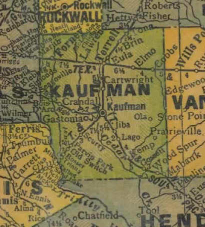 Kaufman County Texas