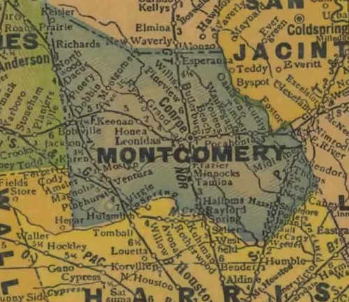 Montgomery County 1920s map