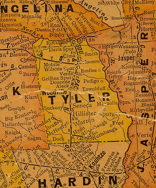Tyler County Texas. on