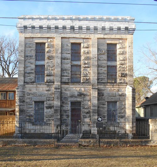 Fredericksburg Texas 1885 Gillespie County Jail