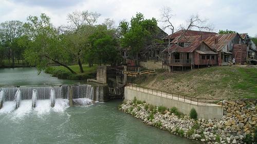 Luling Texas Zedler S Mills And Spiilway