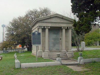 Driscoll Mausoleum in San Antonio Texas