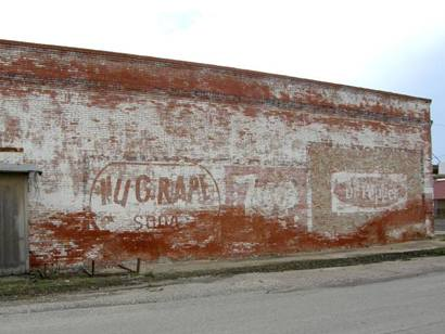 Ghost signs in Dawson Texas