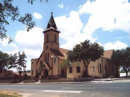 Sacred Hear Catholic Church Floresville Texas