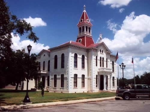 Wilson County Courthouse Floresville Texas
