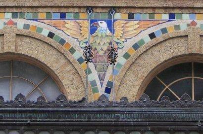 Laredo Tx Hamilton Hotel Architectural Detail