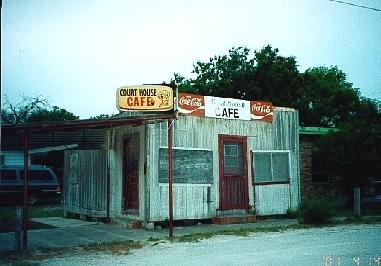 Court House Cafe Tilden Texas