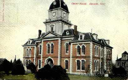 Taylor County Courthouses