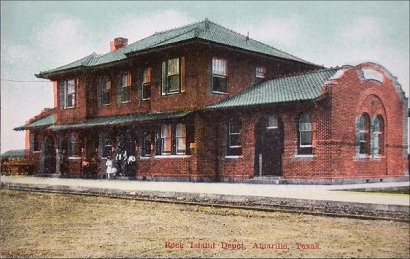 Rock Island Depot, Amarillo, Texas