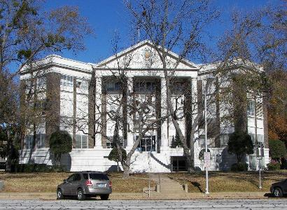 Athens Texas Henderson County Courthouse