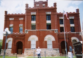 Austin County Museum, formerly Austin County Jail, Bellville Texas
