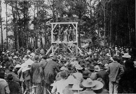 The Double Hanging in Bellville, Texas in 1896