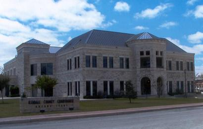 Present Kendall County Courthouse Boerne Texas