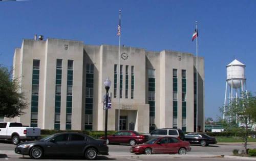 Fannin County Courthouse Bonham Texas