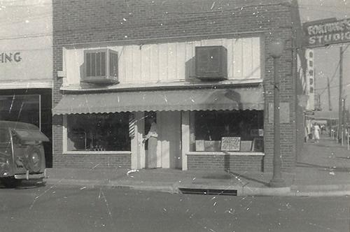 Brownwood Tx Towery Barber 1950