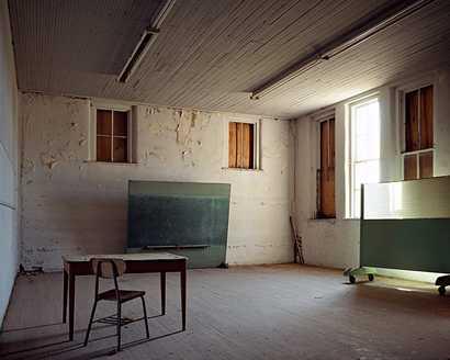 classic school interior