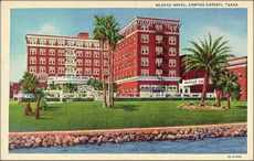 Nueces Hotel - Nueces Hotel, Corpus Christi, Texas. - Nueces Hotel stationery, Corpus Christi, Texas old post card images.
