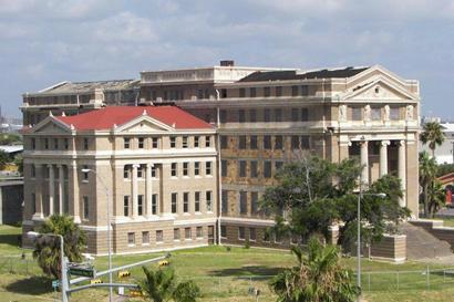 Nueces County Courthouse Corpus Christi Texas. on