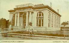 Carnegie Library in Corsicana, Texas