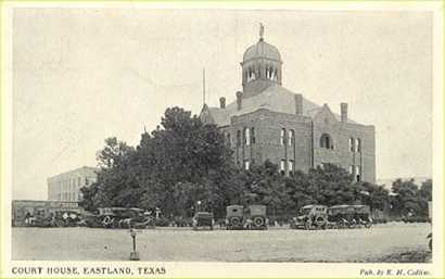 The 1897 Eastland County Courthouse, Old Rip's  residence for 31 years
