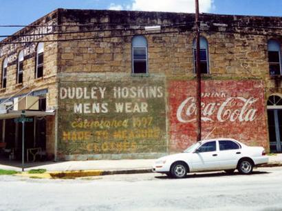 Gonzales Texas History Sign in Gonzales Texas