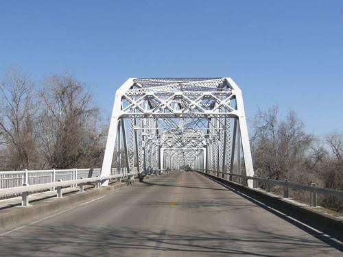 Fayette County Colorado River Thru Truss Bridge La Grange Texas