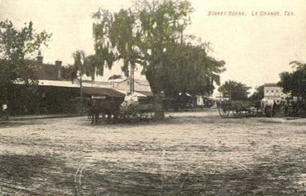 Tx La Grange Downtown 1898