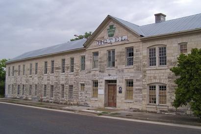 Lampasas Texas Historic Keystone Hotel