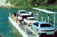 hand-operated ferry