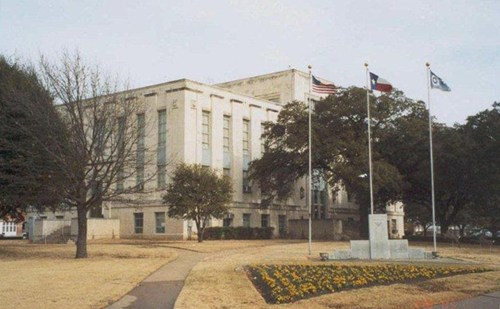 1939 Falls County Courthouse Marlin Texas
