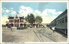 Texas and Pacific Depot, Marshall, Texas