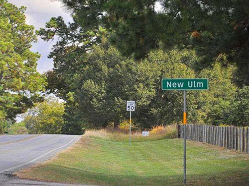 New Ulm Texas Austin County