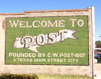 Post texas