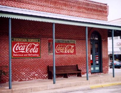 Sealy Tx Coca Cola Sign