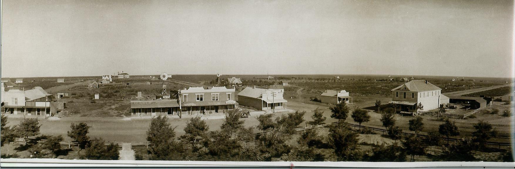 Seminole Texas Panaramic View 1909