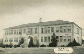 Sonora Texas High School Old Photo