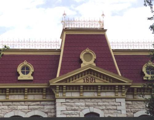 Sutton County Courthouse Mansard Roof Sonora Texas