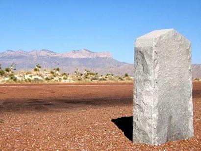 Salt Flat War Centennial Marker