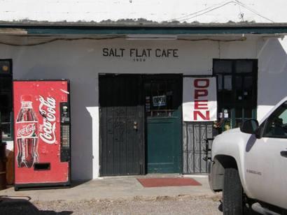 Salt Flat Texas - Salt Flat Cafe