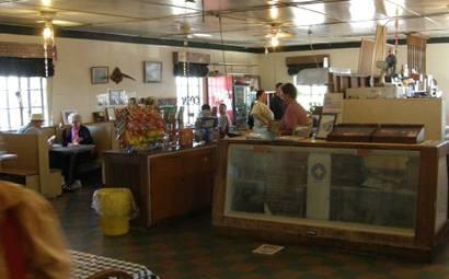 Salt Flat Texas - Salt Flat Cafe interior