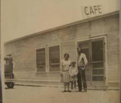 Salt Flat Tx 1929 Photo of Salt Flat Cafe