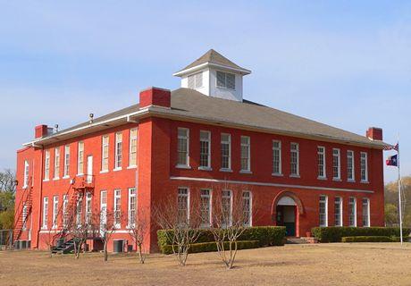 Waxahachie Tx Old Schoolhouse