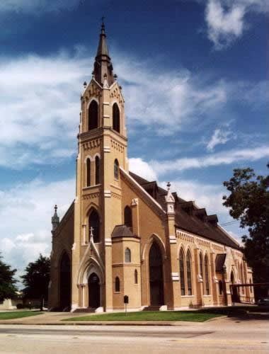 St. Michaels Catholic Church, Weimar, Texas