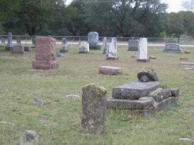 Zephyr Cemetery in Texas