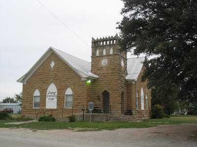 Zephyr Texas Community Center, former church