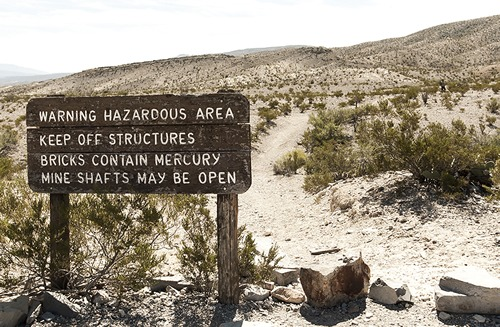 Mariscal Mine Big Bend National Park