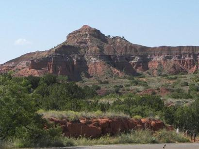 Palo Duro Canyon State Park Lighthouse Peak